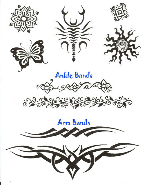 Henna Tattoos. One person every 5 minutes Henna paste can best be applied